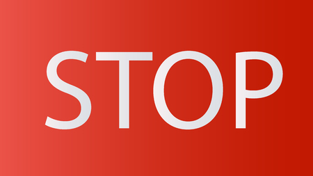 Prohibition road sign. Stop icon. No symbol. Dont do it. Vector illustration EPS10 向量圖像