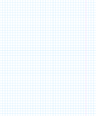 Blank squared notebook sheet. Vector transparent object 10 eps.