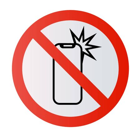 Stop sign No selfie sticks No photos No camera Vector mobile phone photography smartphone forbidden sign symbol icon monopod selfie prohibited Beware hand hold sticks circle shape Caution signs