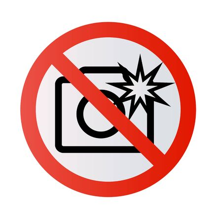 Stop sign No selfie No photos No camera Vector mobile phone photography smartphone forbidden sign symbol icon monopod selfie prohibited Beware hand hold sticks circle shape Caution signs Illustration