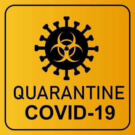 coronavirus covid 19 quarantine and breakout alert sign of quarantine room at hospital with coronavirus covid19 disease control experts make disease treatment to coronavirus infected patient