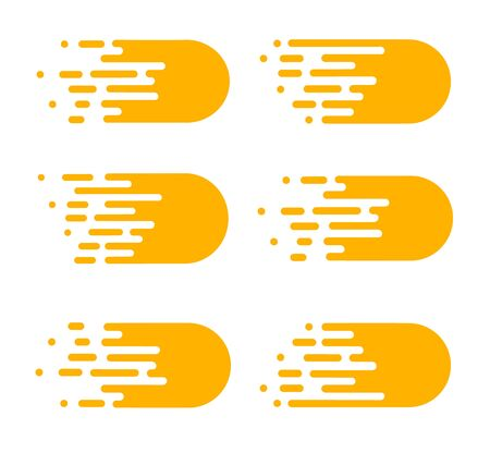 Line transition pattern background, abstract irregular geometric texture. Vector yellow white color halftone line pattern background. Abstract concept . Vector illusration