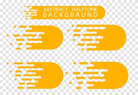 Line transition pattern background, abstract irregular geometric texture. Vector yellow white color halftone line pattern background. Abstract concept . Vector illusration EPS 10 向量圖像