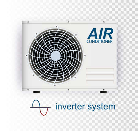 Vector air conditioner. air conditioner with WiFi control