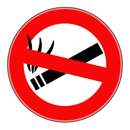 Vector no smoking Stock Vector - 24544828