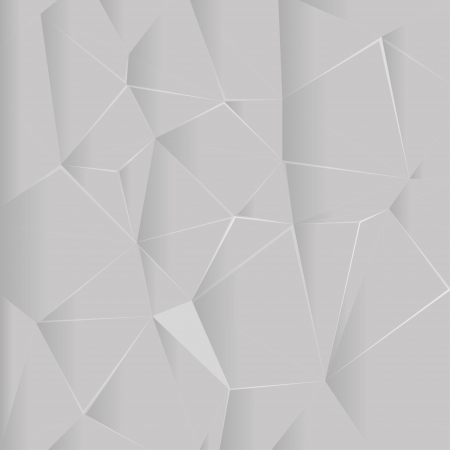 Abstract geometric background crumpled