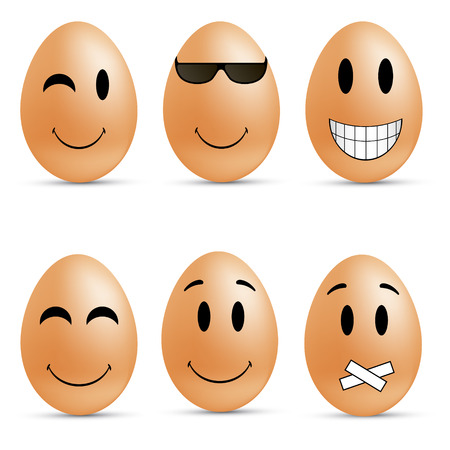 remorse:  Egg smileys
