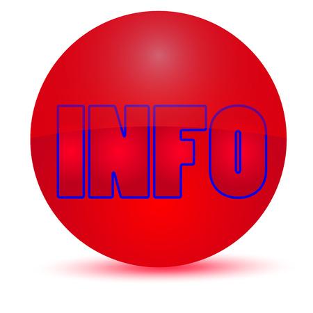 info button: info button icon