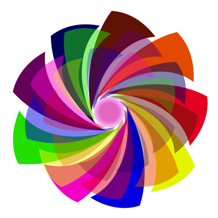 abstract colors symbol