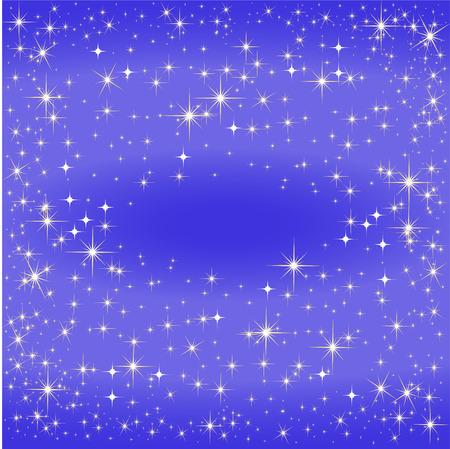 estrella azul: Mapa de las estrellas azules, la V�a L�ctea
