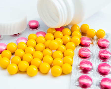Tablets vitamins health