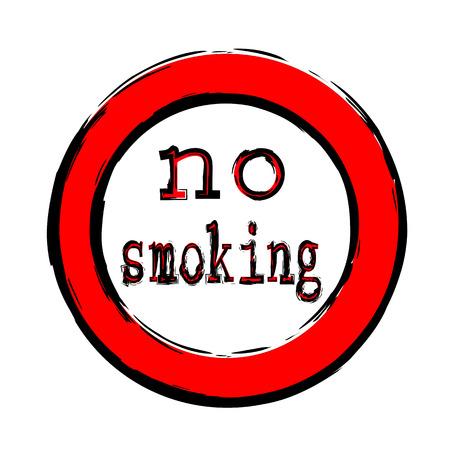 Vector no smoking Illustration
