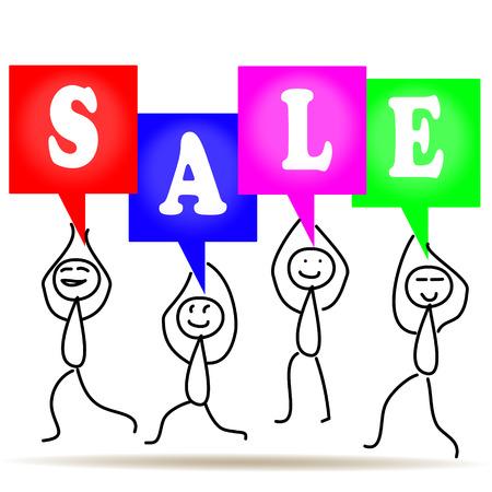 Vector people sale Vector