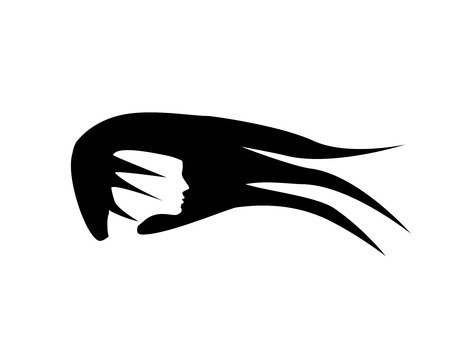 Vector silhouette