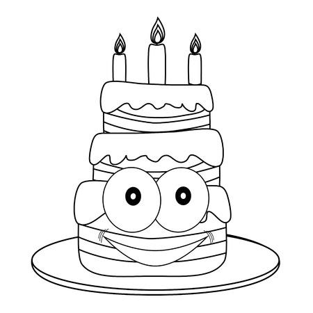 Figure cake