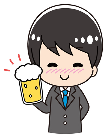 Male Drinking Tipsy