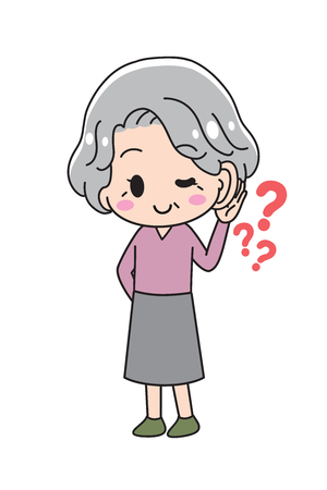 Hearing Ear Senior Woman