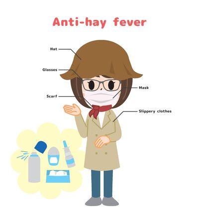 Anti-hay fever and preventive goods English