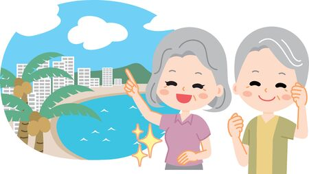 Family travel vacation summer vacation