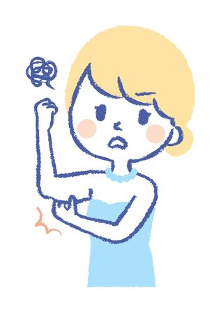 Girl wants to get rid of bingo wings