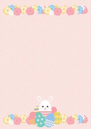 Cute illustration set of Easter eggs