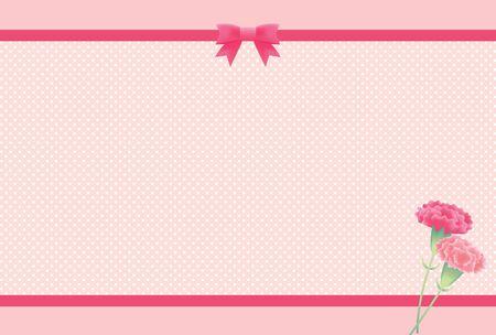 Carnation Background Illustration 写真素材 - 141446629