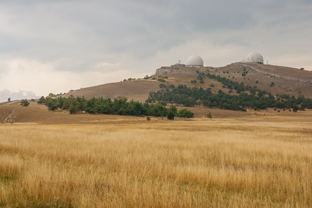 annexed: Ai-Petri mountain landscape in Crimea at fall season