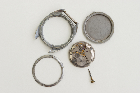 Details of old watch Stock Photo