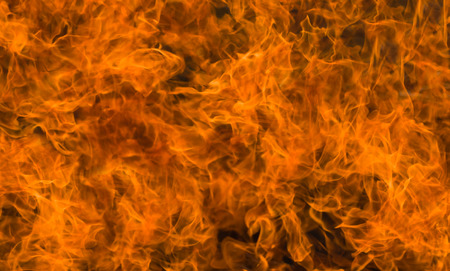 flame background: Abstract natural background - flame