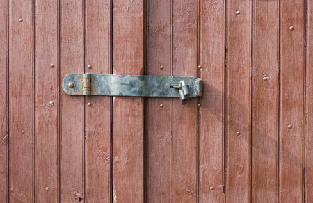 locking: Simple locking system for a gate.