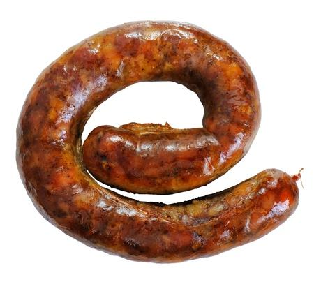 internet explorer: grilled sausage - humorous image of Internet Explorer symbol