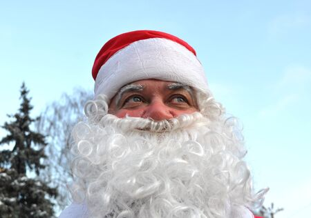 Cherkasy, Ukraine,December,24, 2011: Santa Claus  