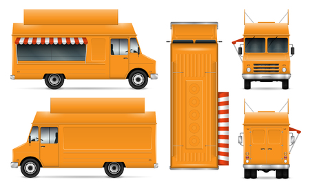 Food trucks icon.