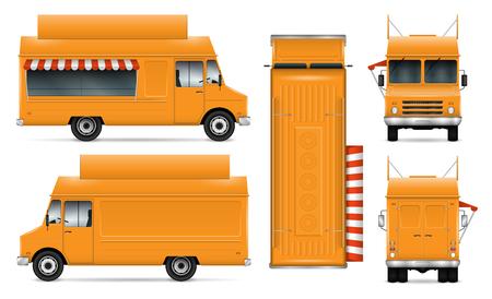 Food trucks icon.