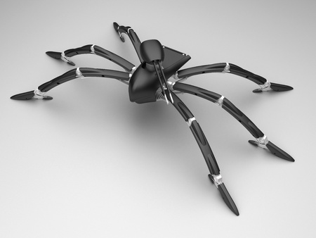 Arachnida mech Stock Photo - 8710955