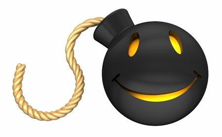 smiling bomb photo