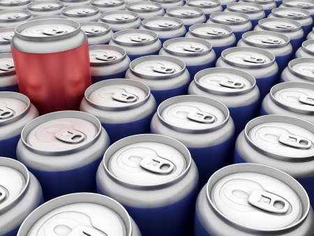 beverage in can Stock Photo - 8770335