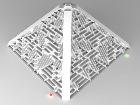 ambivalent: Labyrinth pyramidal