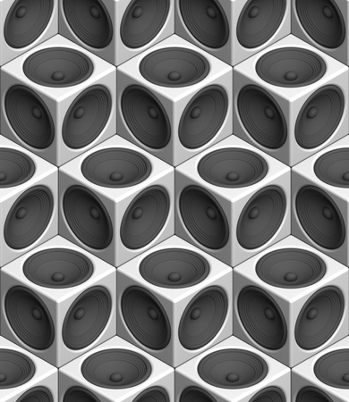 Speaker seamless texture Stock Photo - 8828664