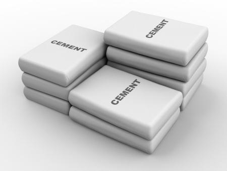 cemento: Bolsas de cemento