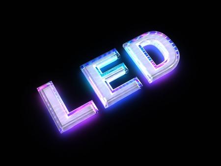 composant ?lectrique: Signe de technologie LED