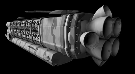 orbital spacecraft: military space station