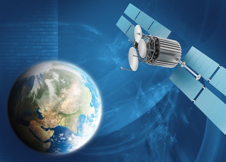 satellite view: Satellite TV