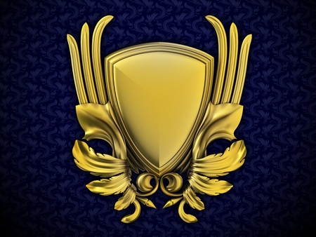 wing logo: Coat of arms