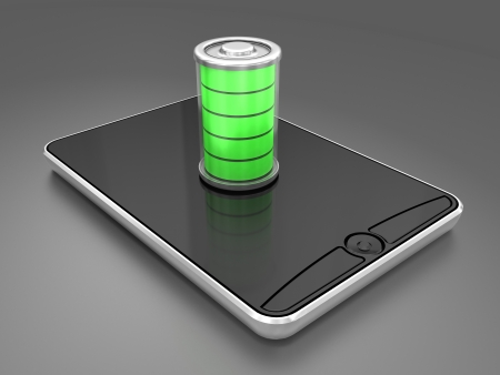 mobile accessories: Battery charging in a telephone