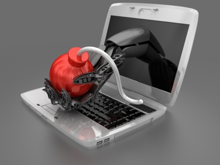 Cyber attack  photo