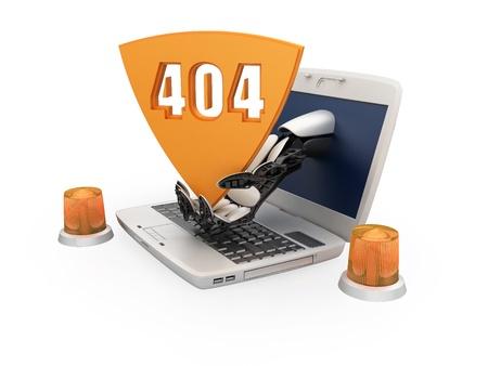 unreachable: Error 404 - page not found
