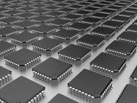 miniaturization: it is a lot of micro chip