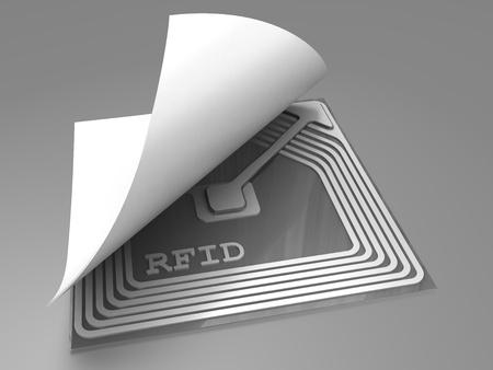 rfid: Rfid sticker