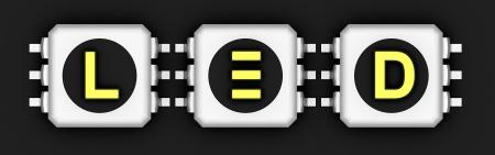 LED 기술 기호